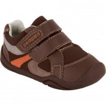 Pediped Grip 'n' Go - Charleston Choc Brown Sneaker