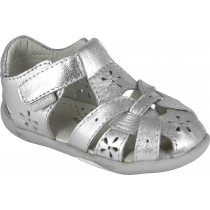 Pediped Grip 'n' Go for Girls - Nikki Silver Sandal