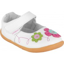 Pediped Grip 'n' Go for Girls - Sadie White Multi Mary Jane