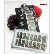 M093 Glamour Nail Sticker