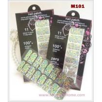 M101 Glamour Nail Foil Sticker