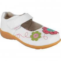 Pediped Flex for Girls - Sadie White Multi Mary Jane