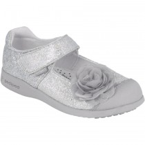 Pediped Flex - Estella Silver Mary Jane Shoe