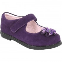 Pediped Flex - Hillary Eggplant Mary Jane