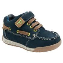 Pediped Flex for Boys - Benji Navy Nuback Shoe