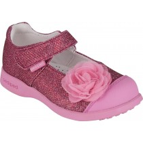 Pediped Flex for Girls - Evangeline Fuchsia Mary Jane Shoe