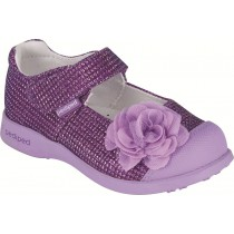 Pediped Flex for Girls - Evangeline Lavender Mary Jane Shoe
