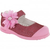 Pediped Flex for Girls - Evie Pink Mary Jane Shoe