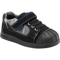 Pediped Flex for Boys - Oscar Black Leather Shoe