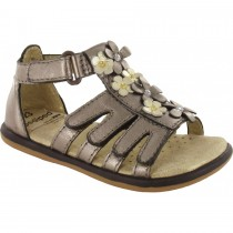 Pediped Flex for Girls - Violet Bronze Sandal
