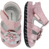 Pediped Originals for Girls - Emme Pale Pink Sandal