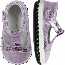 Pediped Originals for Girls - Ruby Lavender T-Strap Mary Jane