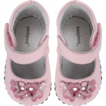 Pediped Originals for Girls - Sabrina Light Pink Mary Jane