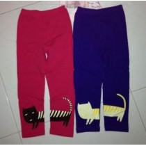 Cat Design Long Pants ZGP 411