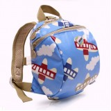 Toddler Walking Harness Strap Backpack Blue Sky
