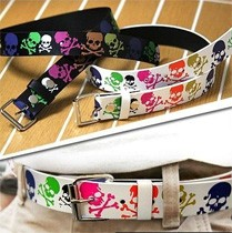 High Quality Fashionable Skull Design Kids Belt KA 004