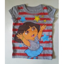 Dora Red Stripes Tee ZGT 318