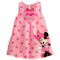 Minnie Pink Polka Dots Dress ZGD 053