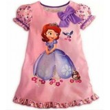 Sofia Peachy Pink Dress ZGD 057