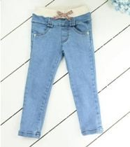 Slim Cut Girls Jeans ZGP 403 D Blue