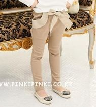 Girls Ribbon Pants ZGP 404 Khaki