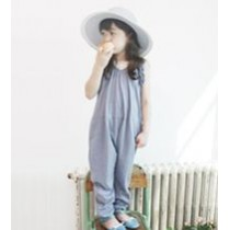 Ruffles Girls Overall ZGP 408 Blue