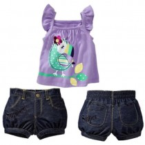 Koopo Girl's Top n Bottom Set ZGS 025