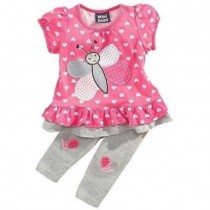 Butterfly Top n Bottom Set ZGS 026