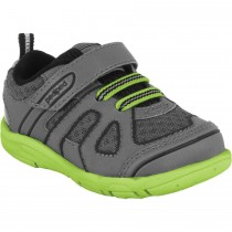 Pediped Grip 'n' Go - Jupiter Charcoal Lime Athletic Shoe