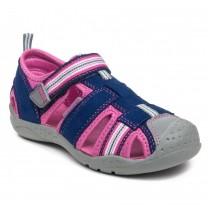 ~NEW~ Pediped Flex for Girls - Sahara Navy Pink Sandal