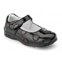 ~NEW~ Pediped Flex for Girls - Giselle Black Patent Mary Jane