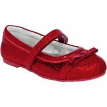~NEW~ Pediped Flex for Girls - Penny Red Sequin Ballet Flat