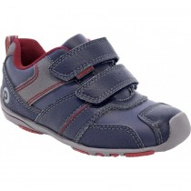 ~NEW~ Pediped Flex for Boys - Frank Navy Red Sneaker
