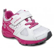 ~NEW~ Pediped Flex for Girls - Mars White Pink Athletic Shoe