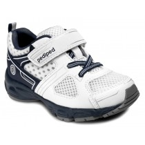 ~NEW~ Pediped Flex for Boys - Mars White Navy Athletic Shoe