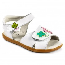 ~NEW~ Pediped Flex for Girls - Leana White Sandal