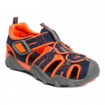 ~NEW~ Pediped Flex for Boys - Canyon Navy Orange Sandal