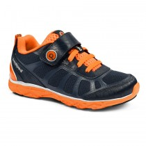~NEW~ Pediped Flex for Boys - Scout Navy Orange Athletic Shoe