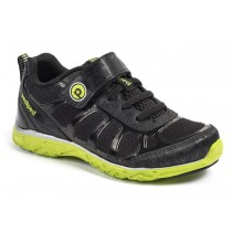 ~NEW~ Pediped Flex for Boys - Scout Black Lime Athletic Shoe