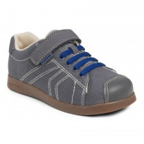 ~NEW~ Pediped Flex for Boys - Jake Grey Blue Shoe