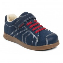 ~NEW~ Pediped Flex for Boys - Jake Navy Red Shoe
