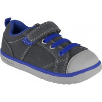 Pediped Flex for Boys - Jett Grey/Blue Sneaker