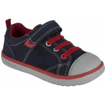 Pediped Flex for Boys - Jett Navy/Red Sneaker