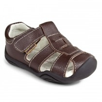 ~NEW~ Pediped Grip 'n' Go for Boys - Sydney Chocolate Sandal