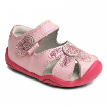 ~NEW~ Pediped Grip 'n' Go for Girls - Daisy Astor Pink Sandal