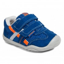 ~NEW~ Pediped Grip 'n' Go for Boys - Gehrig Night Blue Orange Sneaker