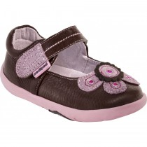 ~NEW~ Pediped Grip 'n' Go for Girls - Selena Chocolate Mary Jane