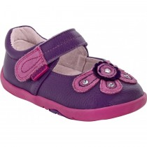 ~NEW~ Pediped Grip 'n' Go for Girls - Selena Purple Mary Jane