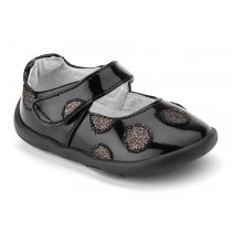 ~NEW~ Pediped Grip 'n' Go for Girls - Giselle Black Patent Mary Jane