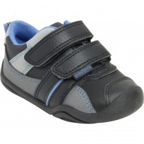 ~NEW~ Pediped Grip 'n' Go for Boys - Frank Black Sky Sneaker